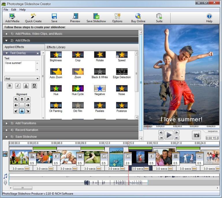 PhotoStage Free Photo Slideshow 5.10 Crack