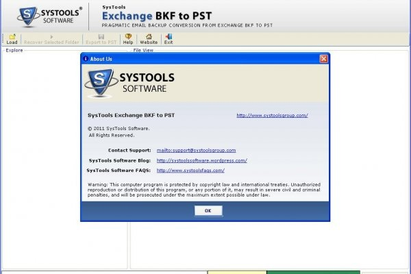SysTools Exchange Recovery 8.0 Crack