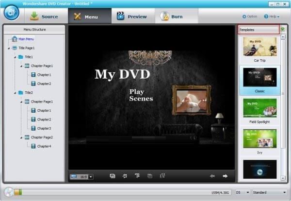 Wondershare DVD Creator 5.0.0 Crack