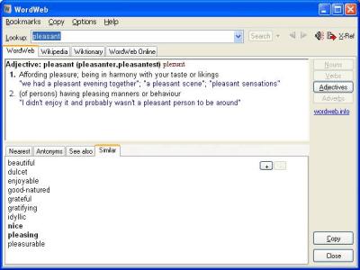 WordWeb 8.21 Crack