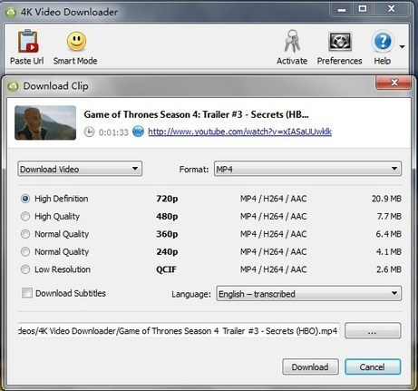 4K Video Downloader 4.4.9.2332 Crack
