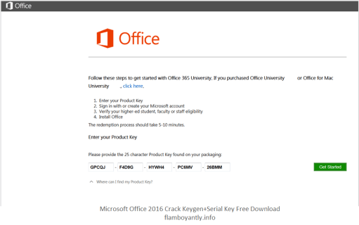 Microsoft Office 2016 Product Key Crack