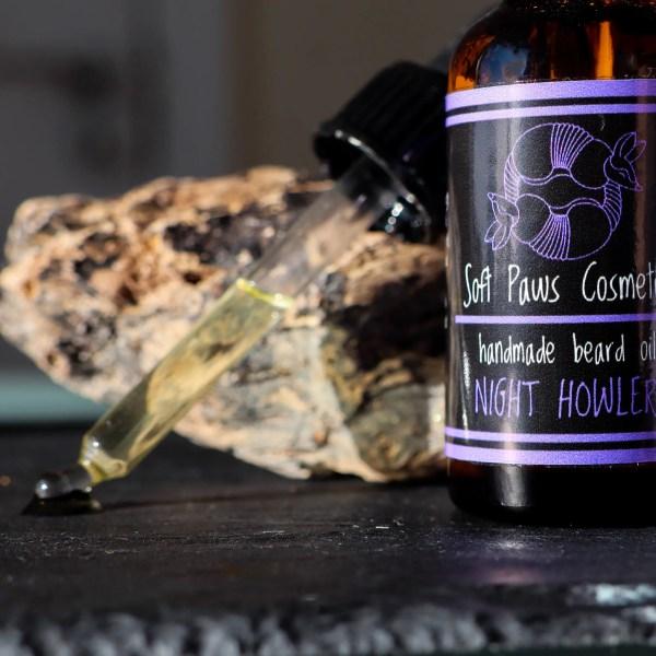 Night Howler - Beard Oil - Frankincense, Cedarwood, Patchouli