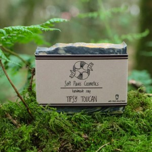 Tipsy Toucan - Stout Beer Soap - Soft Paws Cosmetics