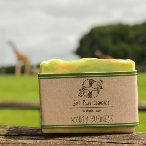 Monkey Business - Handmade Soap - May Chang, Bergamot, Lime