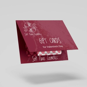 soft paws cosmetics gift card for valentine's day (Wexford, Ireland)