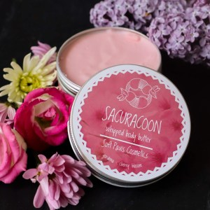 sacuracoon whipped body butter
