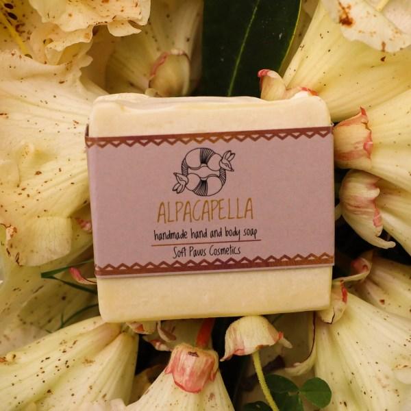 alpacapella handmade soap - lilac, neroli,