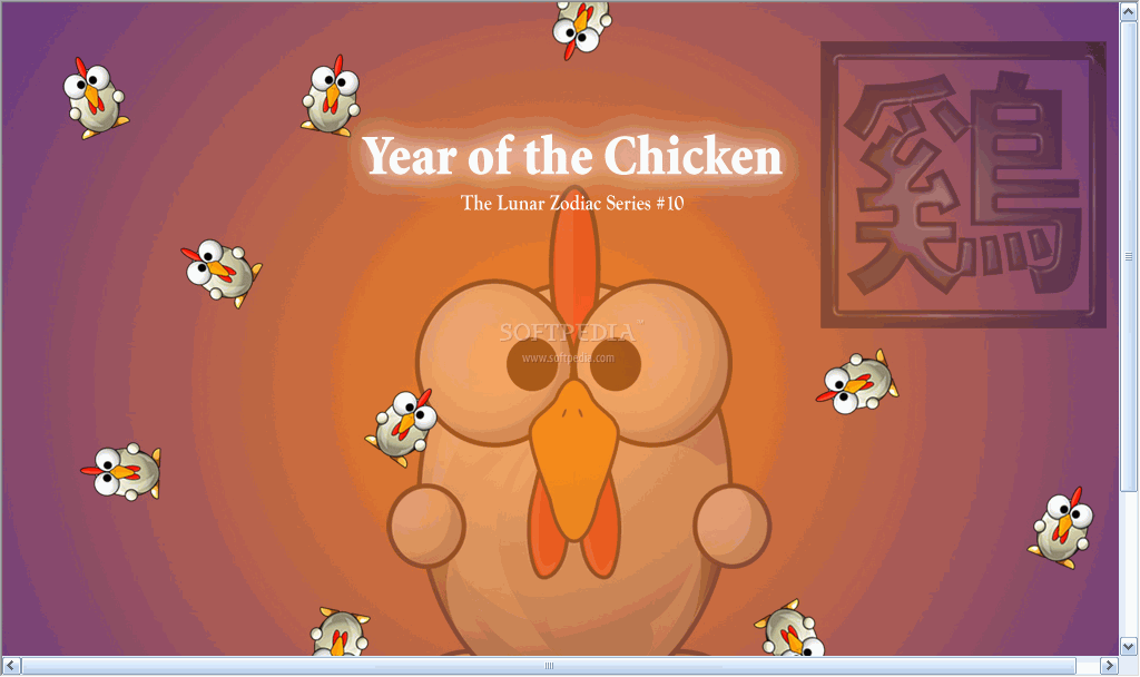 Chicken-Wallpaper-On-Desktop