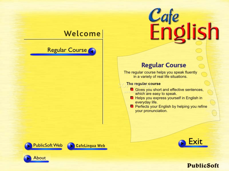 Cafe English screenshot 1