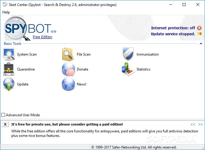 """A imagem """"https://i1.wp.com/www.softpedia.com/screenshots/SpyBotSearch-Destroy_1.png"""" contém erros e não pode ser exibida."""
