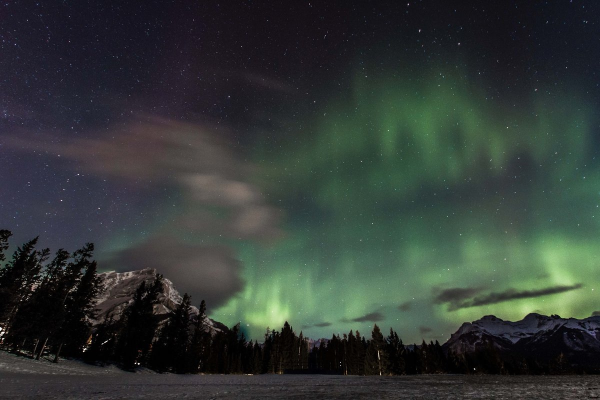 Banff National Park Northern Lights