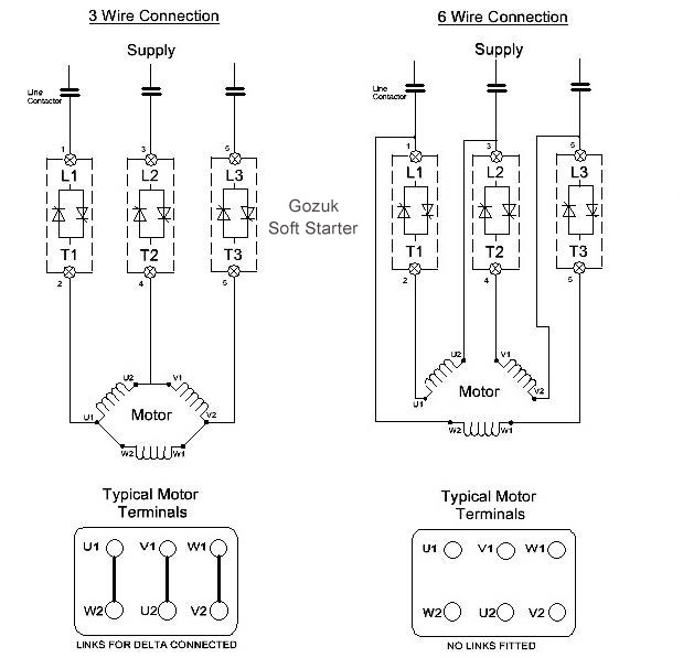 3 wire and 6 wire connection 5357?resize=619%2C597 fcma soft starter wiring diagram wiring diagram fcma soft starter wiring diagram at n-0.co
