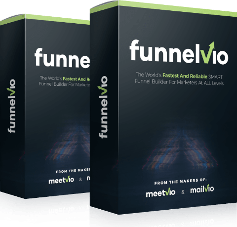 Funnelvio Features     Plug-n-play: A Complete Product Delivery System With All 4 options (Email, Redirect URL, File download, KPDN)   Up to 100,000 visitors per month (Unbeatable in this category)   Made Point-N-Click Easy To Serve Marketers Across All Experience Levels   No Coding Or Technical Skills Required. Fully Web-Based. Just Login And Profit   Seamless Social & Business Integrations: Facebook, Instagram, Twitter, Pinterest, Skype, Major Autoresponders, Google calendar and many more   Fast & Furious: Pre-Created Blocks Built On Google Cloud Pro. For Faster Implementation And Loading To Increase Profit By 57%   Fully Responsive: Mobile friendly fast loading pages   Goal Tracking: No External Split-Testing And Tracking Tools Needed   Get Quick Stats Per Funnel Page, Published Status, Active Split Test Status And A Lot More   Bar And Graphics To Show Revenue, Sales And Most Valuable Customers For 1-Glance Analysis   Create Unlimited Funnels And Pages   Advanced Technology Has Already Served More Than 20 Million Page Visits   Pick-N-Use: 200+ Pre-Done Modern Design Pages To Get You Started Immediately   Built-In Cart And Reporting System To Sell Products With PayPal And Stripe   Supports 5 Pricing Types - One-Time, Subscription, Free, Upsell/Downsell And Cross-Sell – For Maximizing Profits And Conversions   Built-In Page Importer - Import Any Page Online And Build Your Next Page In Minutes   1-Click Share, Clone, Publish, Unpublish, Delete And Archive Funnels (Single Or In Bulk)   Create/Clone Pages In Multiple Languages With The Built-In Drag-N-Drop Editor For Non-English Speaking Audience And Skyrocket Sales   Create And Customize Buttons And Coupons To Skyrocket Conversions   Also Includes: A 5 Step Guide To Creating Your First Product AND A New Funnel Guide   Special Launch Offer: Grab The Commercial License WITHOUT Upgrading
