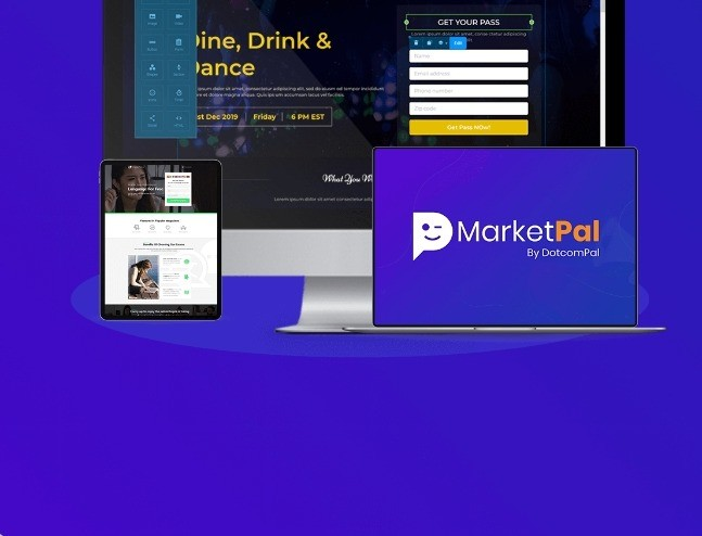 Meet The Most Powerful Marketing Platform That Creates Lightning Fast Pages, Pop-Ups, Splash Pages, Sticky Bars And Sends Unlimited Emails Without Any Technical Hassles