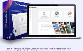 VideoMatic Review: The #1 IMMERSIVE Video Creation Software That Will Empower Your Customers To Create Gamified, Engaging, Interactive, And Immersive Videos… To Massively Boost Their Own Sales And Make More Profit By Selling On Their Immersive Videos.