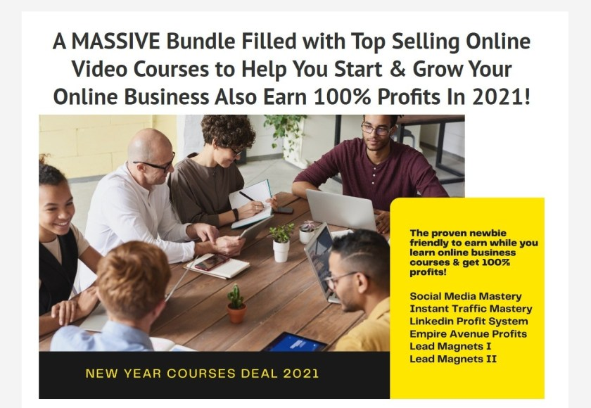 A MASSIVE Bundle Filled with Top Selling Online Video Courses to Help You Start & Grow Your Online Business Also Earn 100% Profits In 2021! https://www.softtechhub.us/NewYearCoursesDeal #socialmedia #onlinecourse #onlinecourses #DigitalMarketing #DigitalNigeria #DigitalIndia #contentcreators