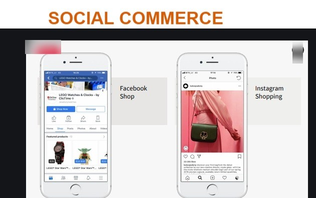 Social commerce is what transpires when savvy marketers take the most beneficial of e-commerce and blend it with social media.