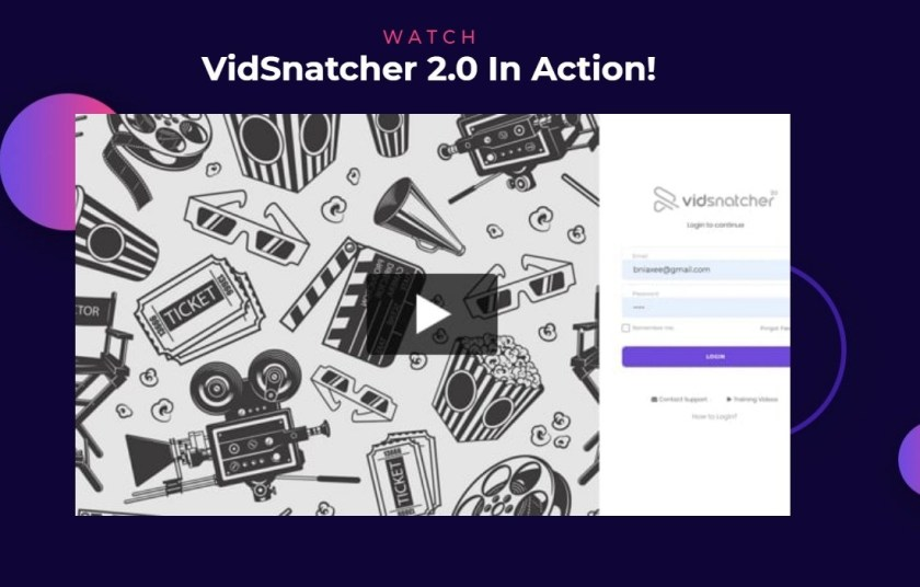 VIDEO MARKETERS HAS RELEASED A NEW VERSION OF VIDSNATCHER 2.0 COMMERCIAL