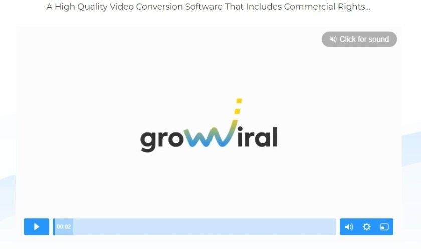 Grow Viral is a brand new software For marketers who like free traffic.