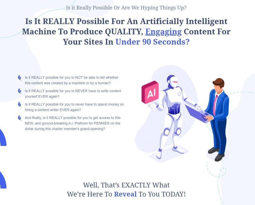 CLICK HERE TO TRY OUT CREAITE [ NEW ARTIFICIAL INTELLIGENCE CONTENT MAKER LIKE HUMANS]