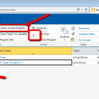 How to Check in your own Project that is checked out to you in another session on MS Project Server