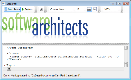 Graphic In XAML And WPF