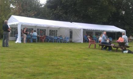 Last few stragglers at the 2013 Garden Party. Yet another great event!