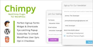 Chimpy Plugin for WordPress