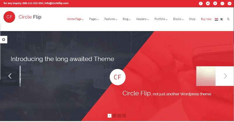 Circle Flip Theme