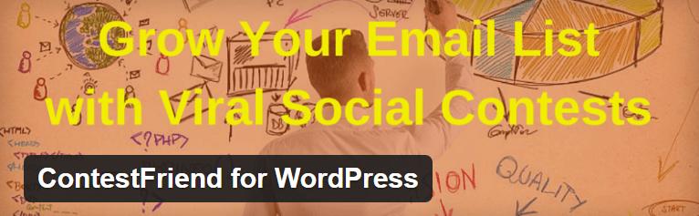ContestFriend for WordPress