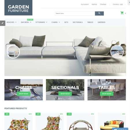 Garden Furniture Shopify Theme