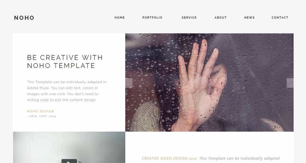NOHO Muse Template