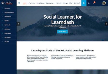 Social Learner Theme