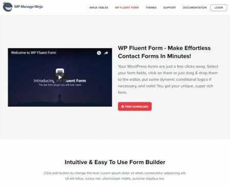 WP Fluent Form