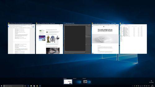 Multitasking Microsoft Windows 10 Pro