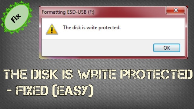 How to Remove Write Protection from USB Windows 15 Using 15 Methods