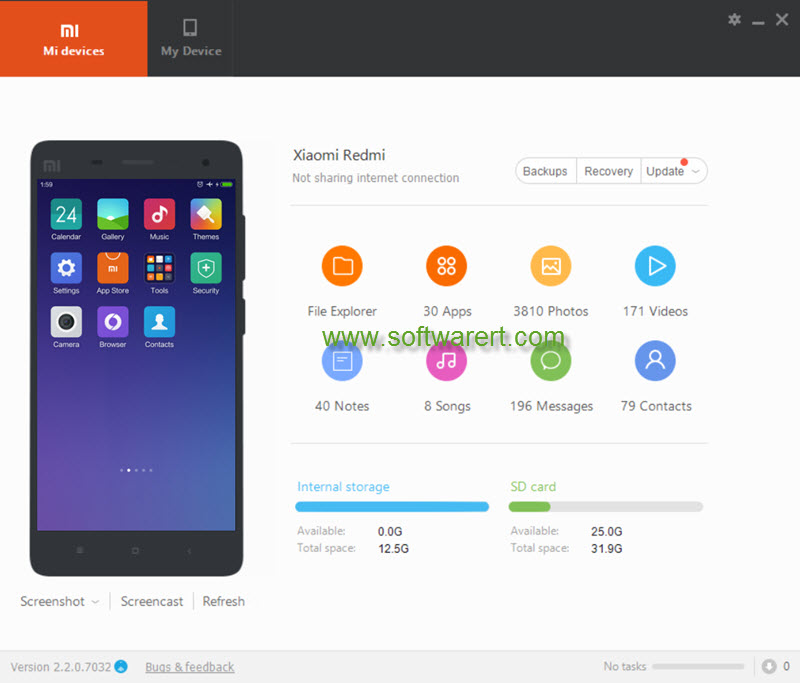 mi pc suite - xiaomi redmi phone manager (Xiaomi Mobile Assistant)