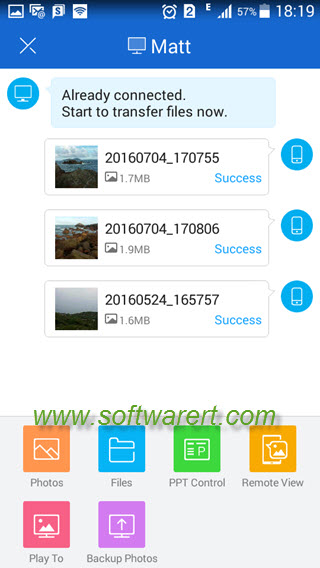 transfer files from android phone to computer via shareit