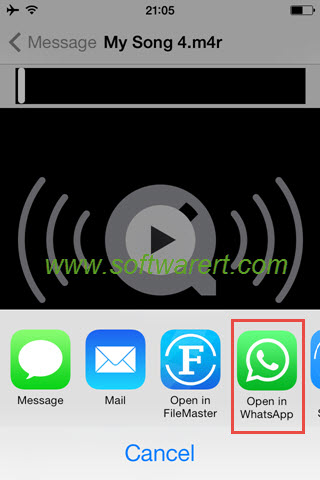 how to share songs on iphone how to songs through whatsapp on iphone 1595