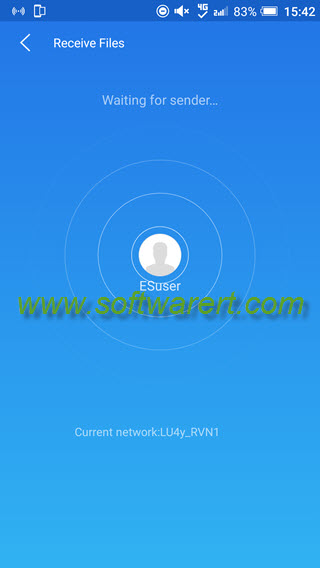 es sender for android to receive files