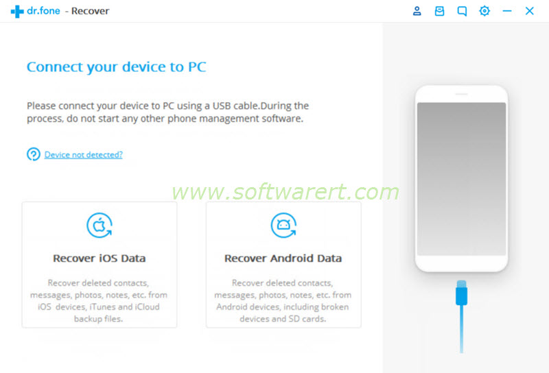 ios & android data recovery dcfon for pc