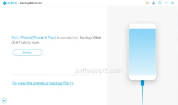 backup viber chat history from iphone to windows pc dcfon