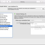 Share Mac WiFi with iPhone or Android over USB or Bluetooth