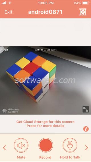 athome camera iphone
