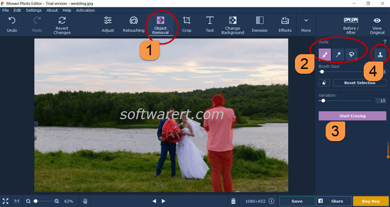 remove people from photo movavi photo editor for windows
