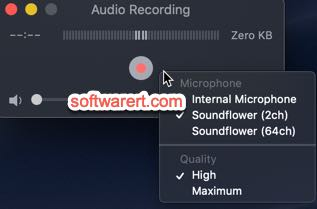 record system sound on Mac using Quicktime player and Soundflower