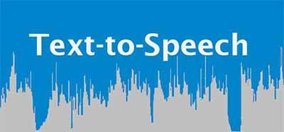 text to speech, audio, voice