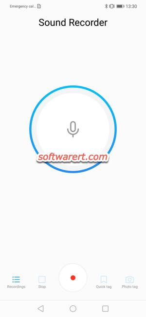 huawei phone sound recorder