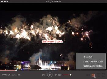take video snapshots Mac - video converter